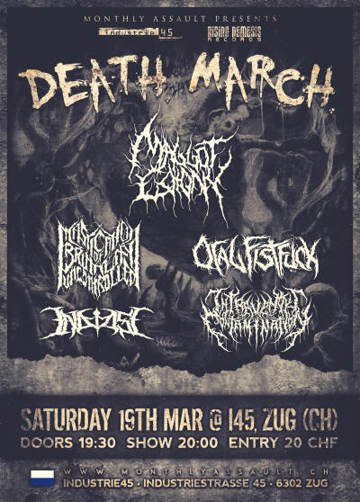 Flyer Monthly Assault - Death March