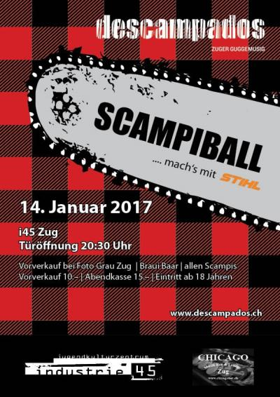 Flyer Scampi Ball
