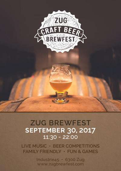 Flyer Zug Brewfest