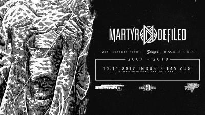 Flyer Martyr Defiled Farewell Tour