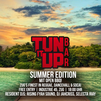 Flyer Tun It Up Bar - Summer Edition