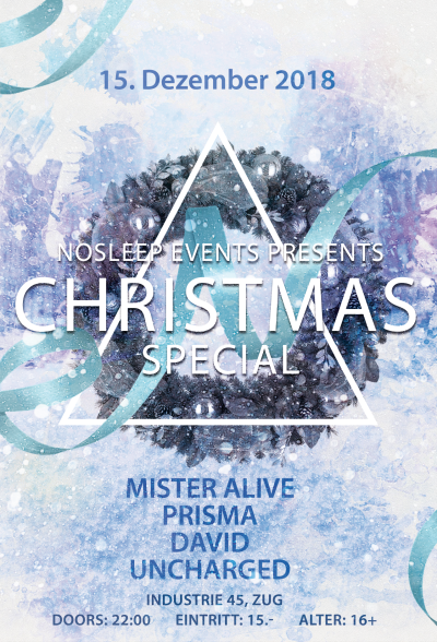 Flyer NoSleep: Christmas Special