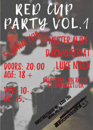 Red Cup Party Vol.1