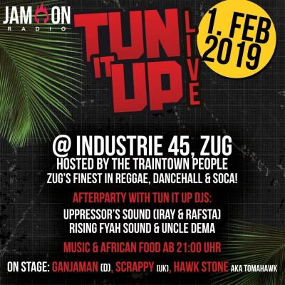 Flyer Tun It UP Live