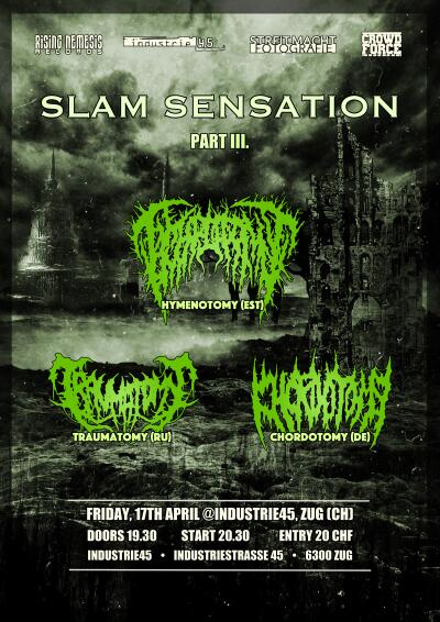 Slam Sensation Part III.