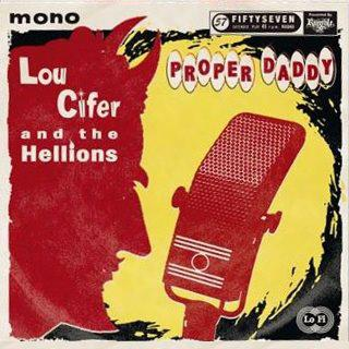 Flyer Lou Cifer and the Hellions
