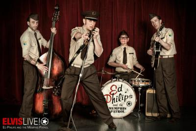 Flyer Ed Philips and the Memphis Patrol